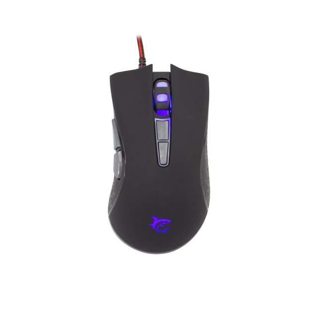 Mouse Gaming White Shark GM-1601 Spartacus, Zezë / 4800 dpi