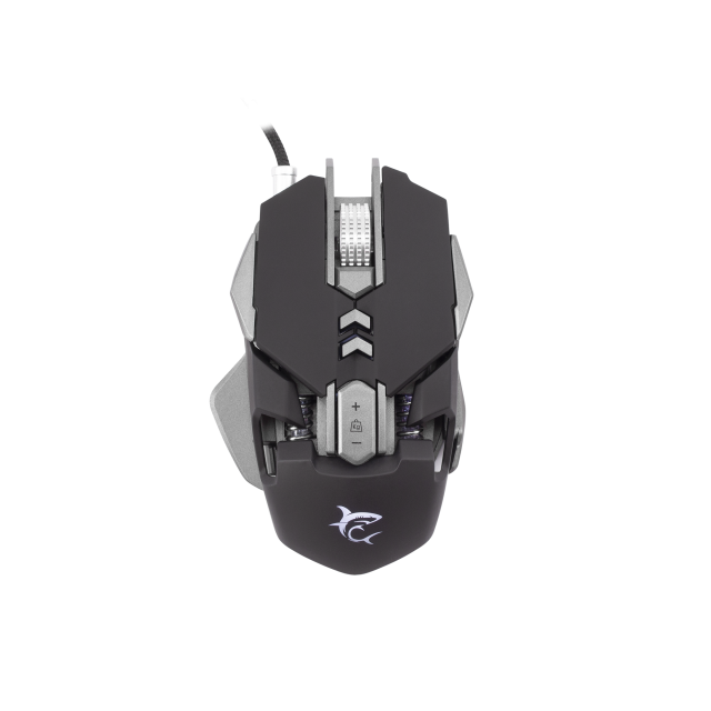Mouse Gaming White Shark GM-5001 SHAKA ZULU,/ 4800 dpi