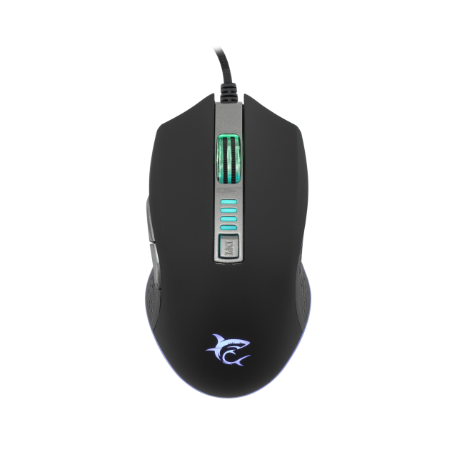 Mouse Gaming White Shark GM-5002 OCTAVIUS RGB / 6400 dpi