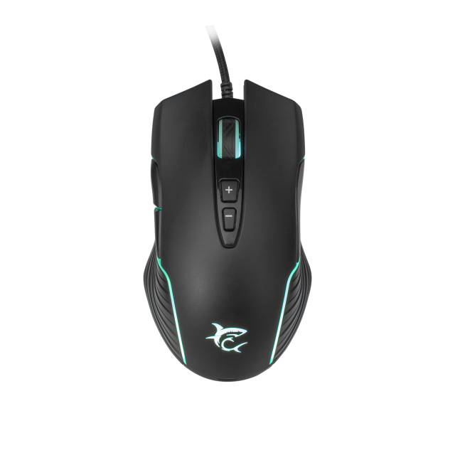 Mouse Gaming White Shark GM-5003 AZARAH RGB / 6.400 dpi