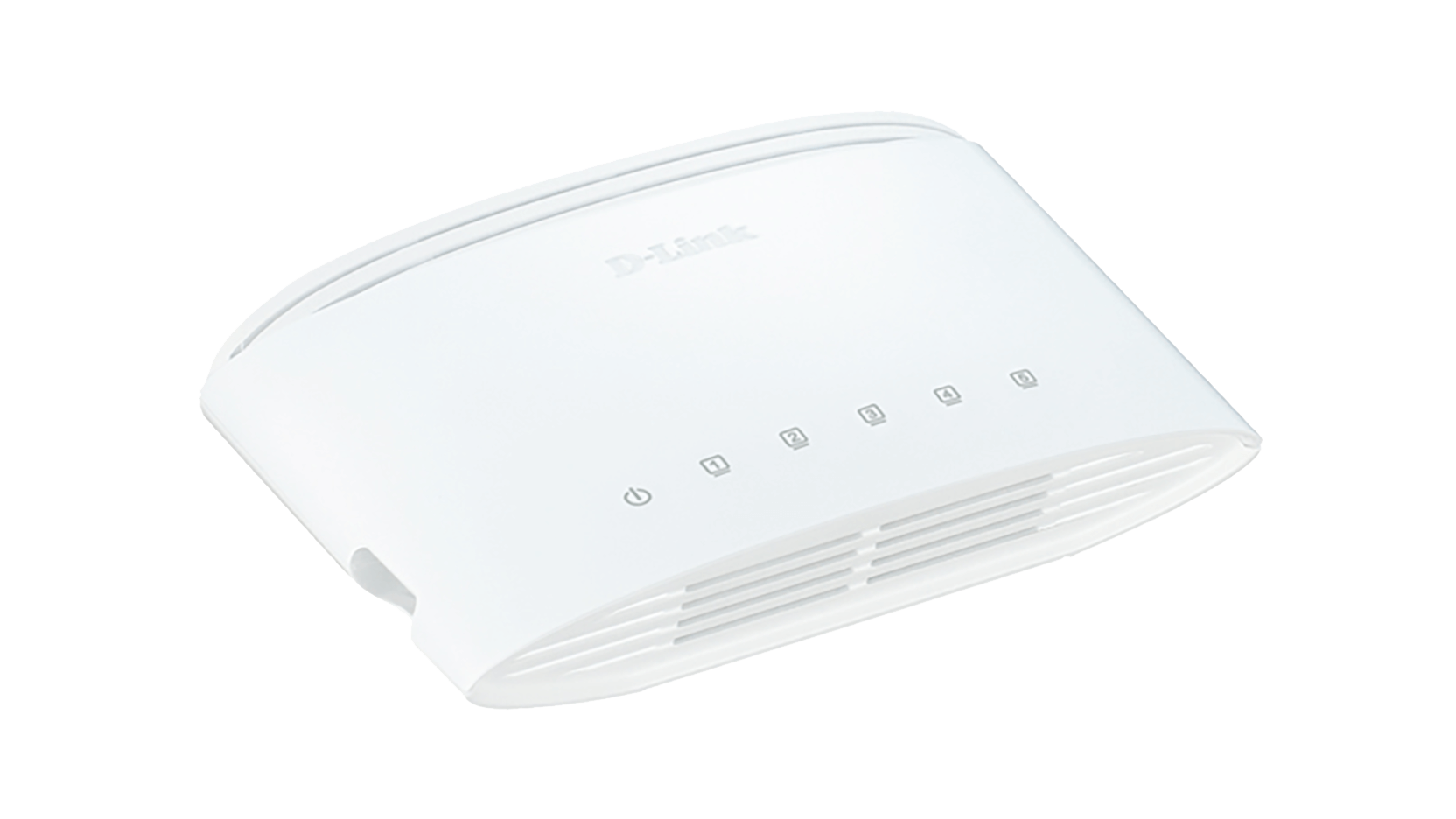 Switch D-Link, DGS‑1005D Gigabit, e bardhë